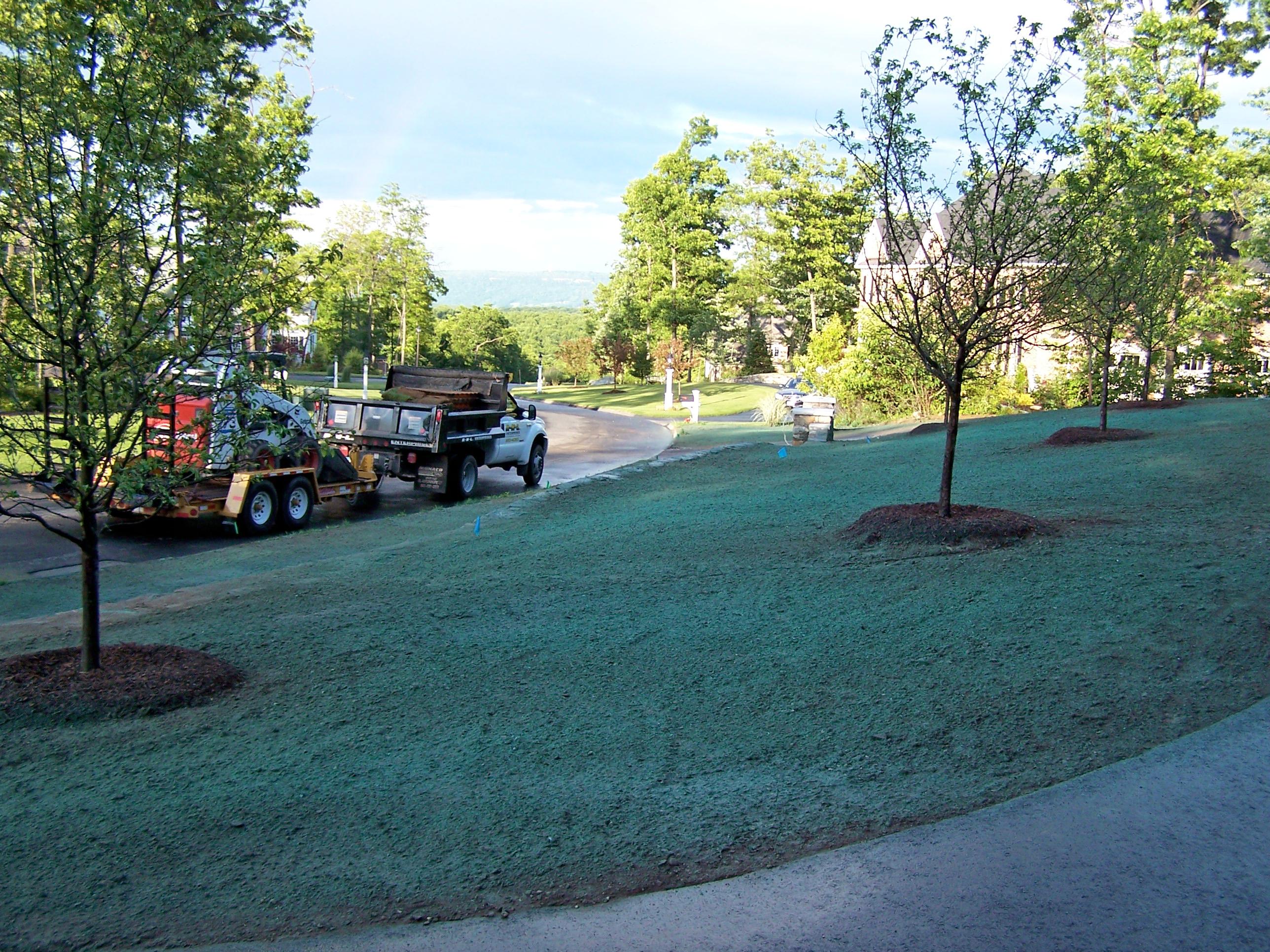 Hydro Seeding R N L Enterprises Llc Landscaping And Lawn